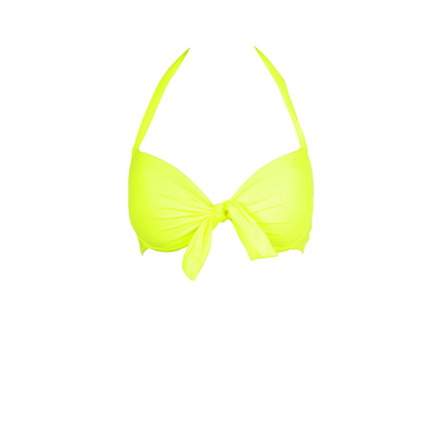 Mon Push-up Bikini Neon Yellow  - Balconnette Swimsuit (Top)