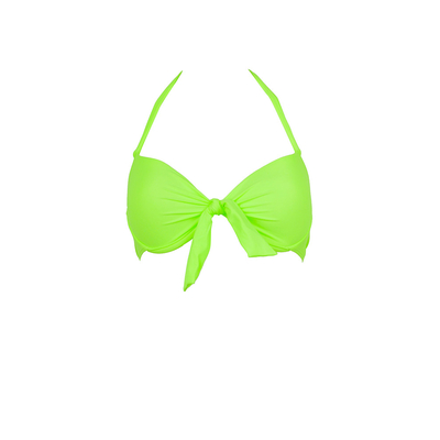 Mon Push-up Bikini Neon Green - Balconnette Swimsuit (Top)