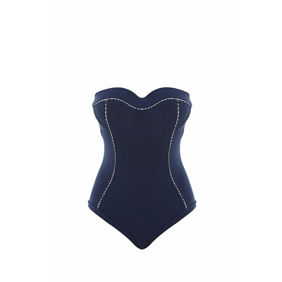 Blue one-piece swimsuit Absolutely Chic