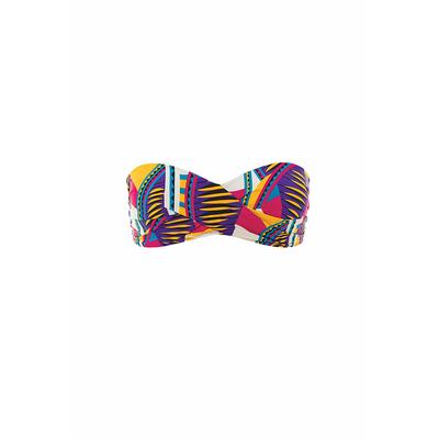 Strapless swimsuit multicolor Lady Soul (Top)