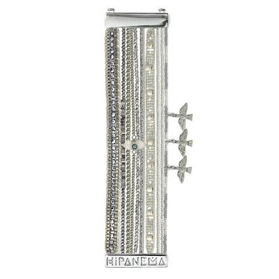 Silver Hipanema bracelet Oh My Silver