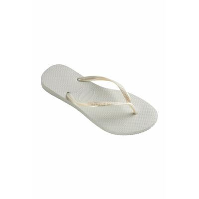 White Slim Havaianas flip-flops
