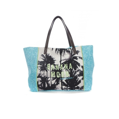 Beach bag turquoise blue Berenson