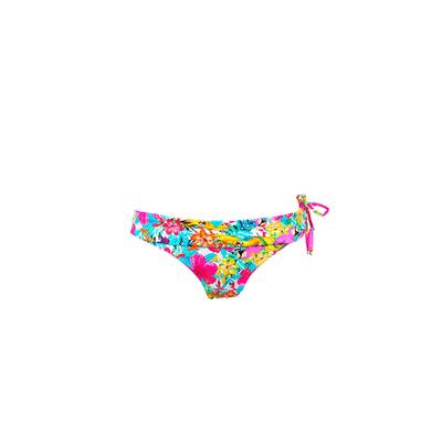 Pink swimsuit bottom flower print Tropicana (Bottoms)