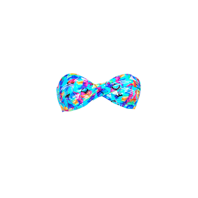 Strapless blue swimsuit Dreamcatcher Banana Moon Teens (Top)
