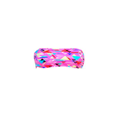 Pink strapless swimsuit Rubystar Banana Moon Teens (Top)