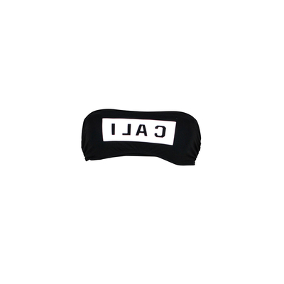 Strapless back swimsuit Socal Banana Moon Teen (Top)
