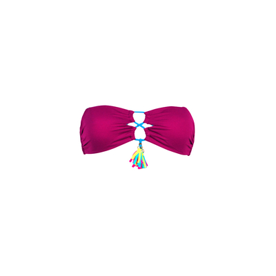 Purple strapless swimsuit Wanders Banana Moon Teens (Top)