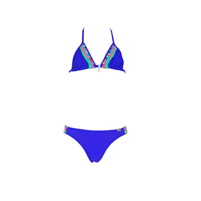 Two piece swimsuit royal blue Spring Kids