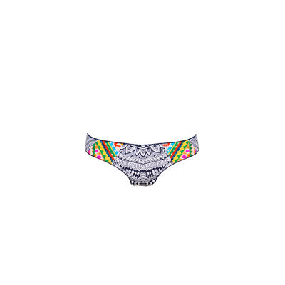 Swimsuit bottom white and multicolor Mayan (Bottoms)