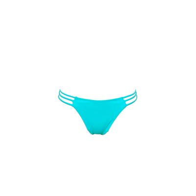 Mon Mini Itsy Bikini Neon Blue - Tanga Swimsuit (Bottoms)