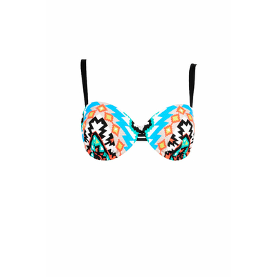 Underwired swimsuit multicolor Kasbah (Top)