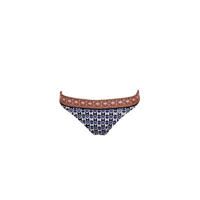 Blue printed swimsuit bottom Anafi (Bottoms)