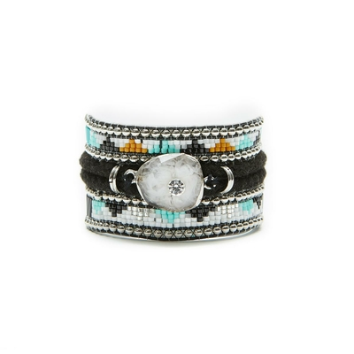 Hipanema black brazilian bracelet Blackmamba