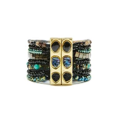 Hipanema black brazilian bracelet Amazonia