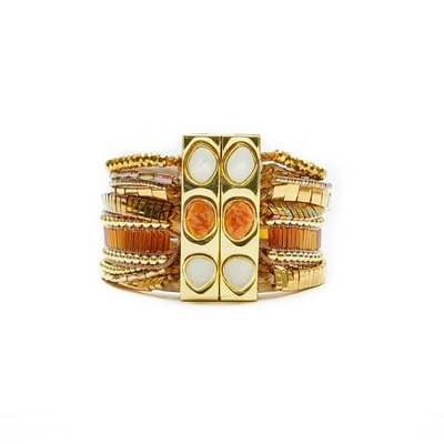 Hipanema orange brazilian bracelet Solar