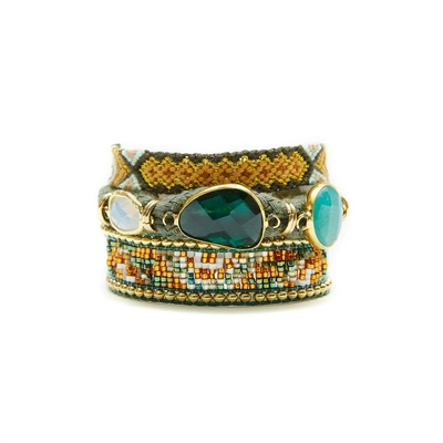 Hipanema green brazilian bracelet Nashville
