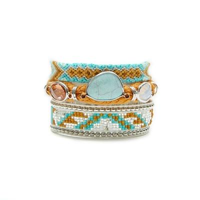 Hipanema blue brazilian bracelet Southfork
