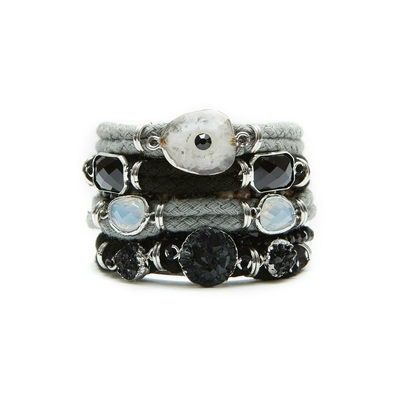 Hipanema grey brazilian bracelet Drakar