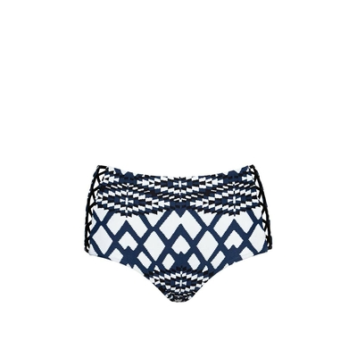Blue steel Modern Tribe high bikini (Bottom)