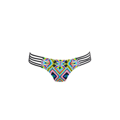 Ma Itsy Bikini brief multicoloured with tribal prints (bottom)