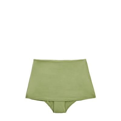 High waisted bikini skirt pant Active green colour (bottom)