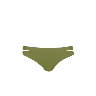 Bikini brief Active khaki green (bottom)