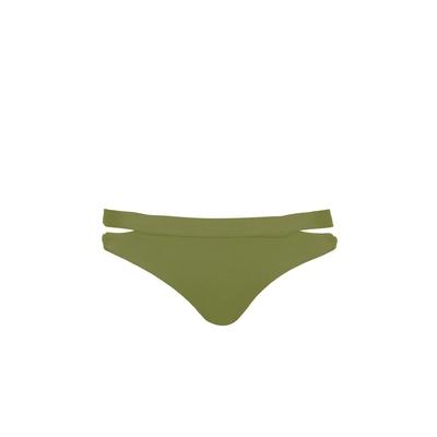 Bikini brief Active khaki green (bottom)