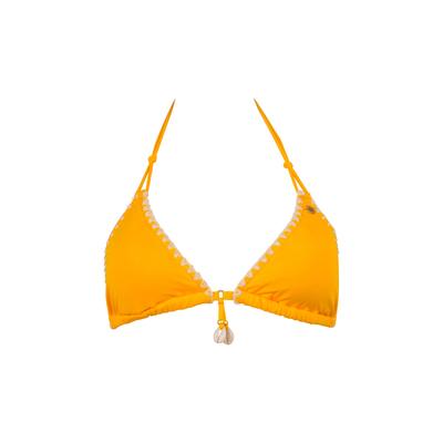 Triangle bikini Ethnichic yellow (top)
