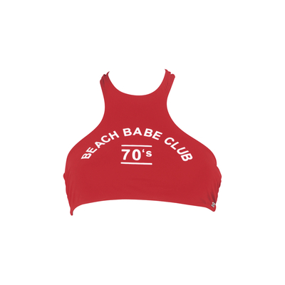 Teens - Tank top bikini Beachbabe red (top)