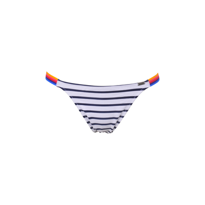 TEENS - Bikini brief Supercolor white blue striped (bottom)