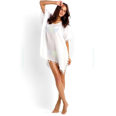 White beach tunic Amnesia - Seafolly