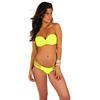 maillot-de-bain-jaune-fluo-sexy-deux-pièces-pas-cher