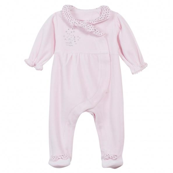 f46380e4adc1 Dors Bien Velours Rose - Vêtement Pyjamas et dors biens - YoukiddY