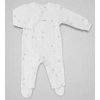 Pyjama Blanc - Ligne coton Bio