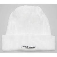Bonnet Blanc Naissance - Ligne Coton Bio