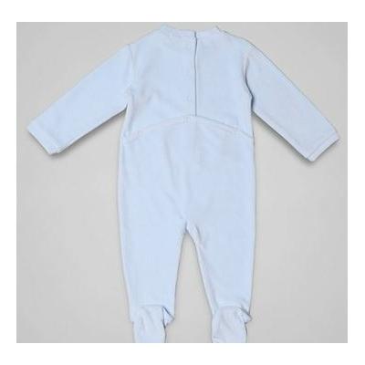 ABSE5-012 - Dors bien Bleu petits coeurs dos