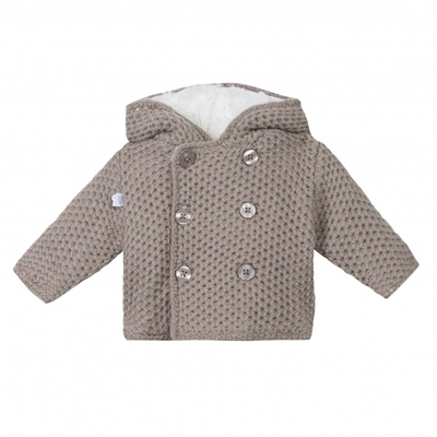 Manteau/gilet tricot Taupe