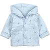 Manteau Mi-saison Molletonné Bleu