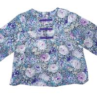Blouse Anais multicolor printed long sleeves
