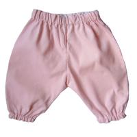 Pantalon Dina en velours de coton rose