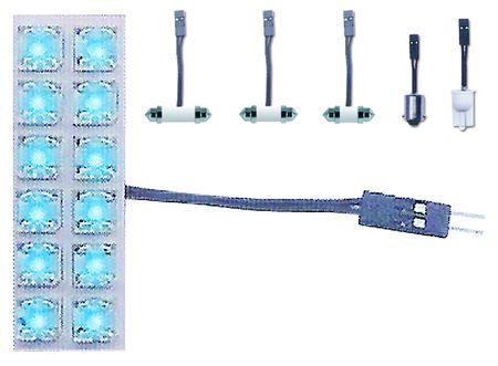 ampoule dome light bleue 12 led 20x60 mm eclairages int rieur voiture web tuning. Black Bedroom Furniture Sets. Home Design Ideas