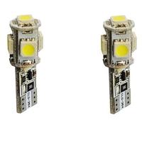 2 ampoules led T10 anti-erreur - 5 X SMD5050