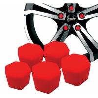 Kit 20 Couvres boulons Rouges - clé de 19
