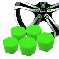 Kit 20 Couvres boulons Verts - clé de 17