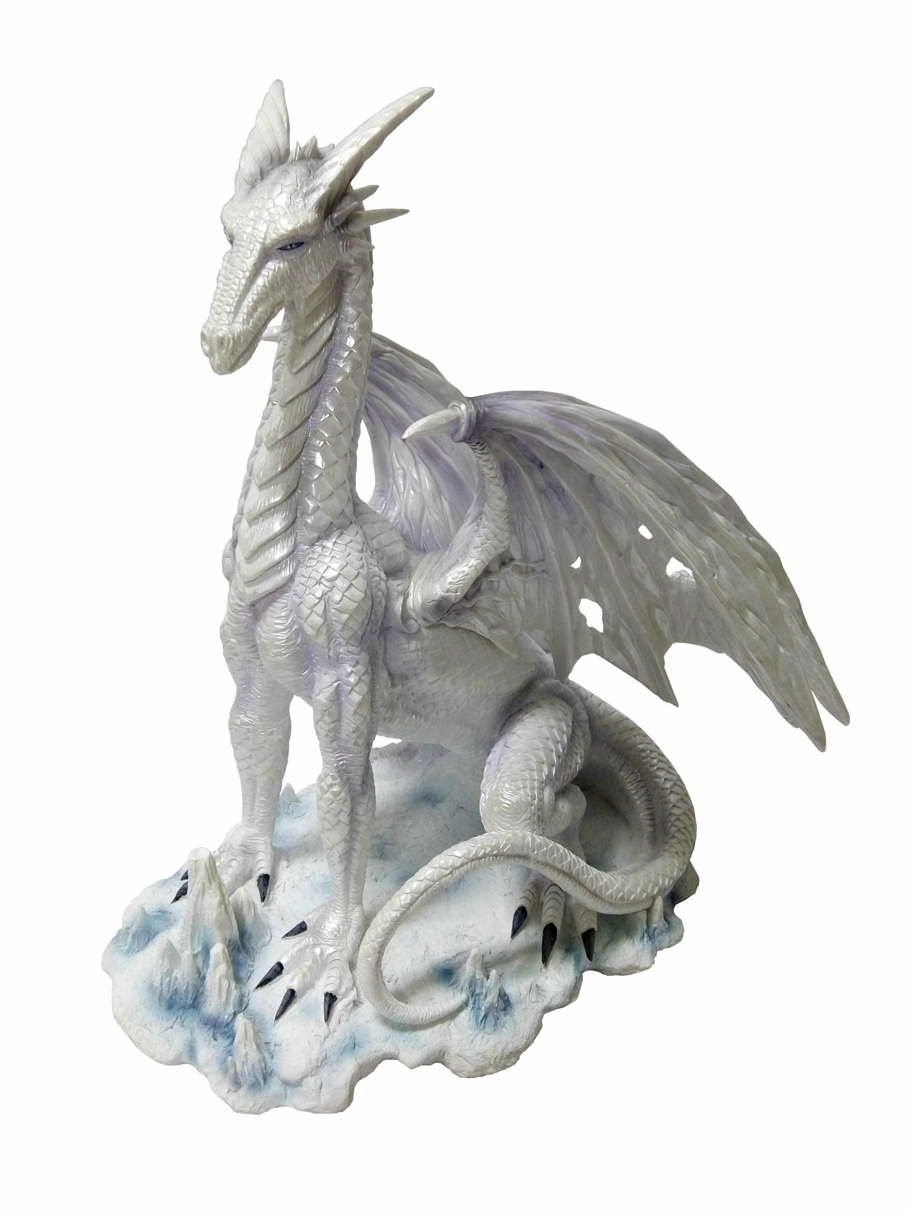 Statuette Dragon Héron (H36x L33cm)