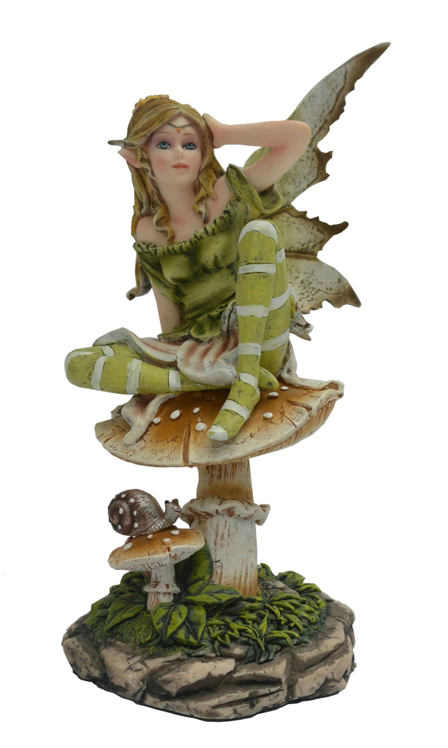 Figurine Fée Aonor (H16 x L11cm)