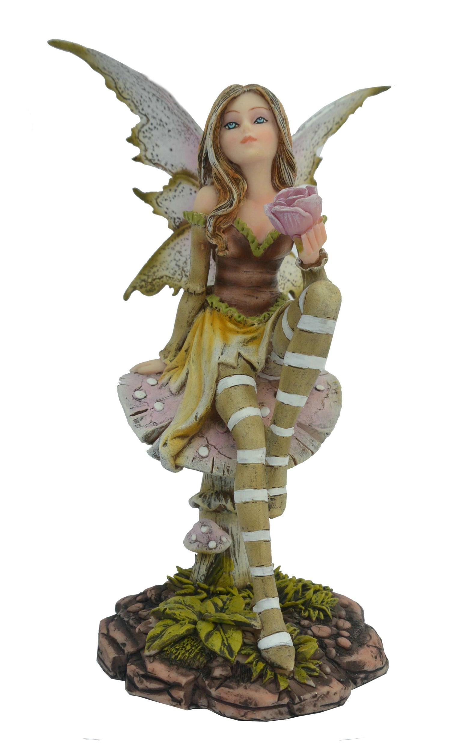 Figurine Fée Cadvaël (H16 x L11cm)