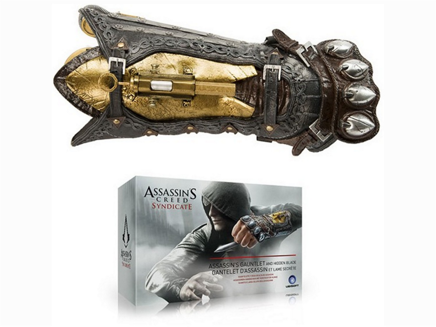 ASSASSIN\'S CREED SYNDICATE - Réplique officielle Hidden Blade