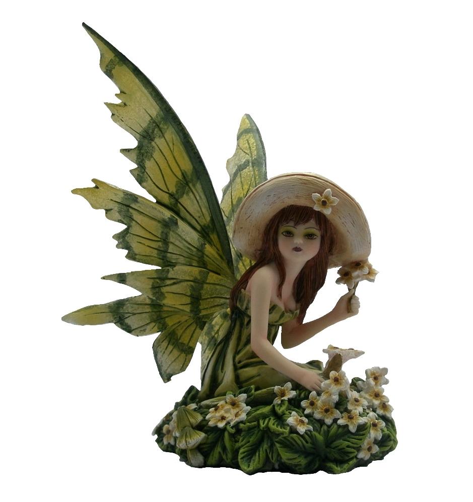 Figurine Fée Glenda (H14 x L12cm)